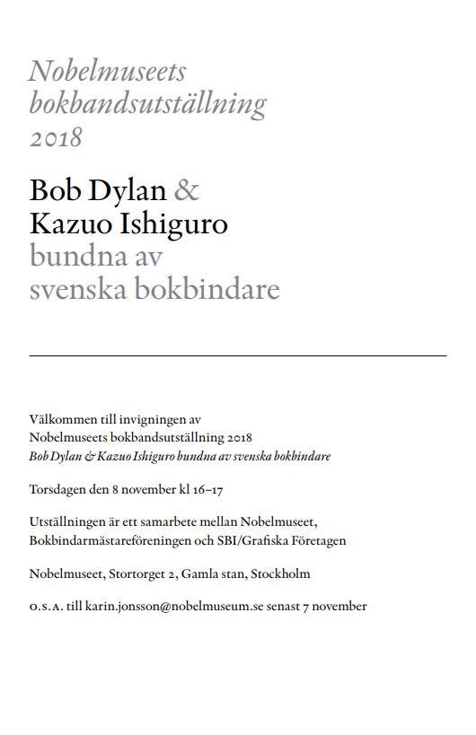 Nobel_bokband_2018_vernissage